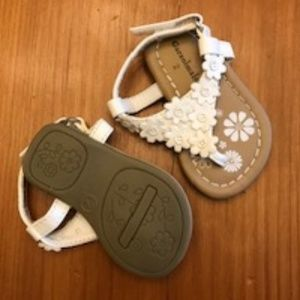 Baby Girl White Sandals